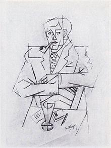 Jean_Metzinger,_1911,_Etude_pour_le_portrait_de_Guillaume_Apollinaire,_Mine_graphite_sur_papier_vergé_rose,_48_x_31.2_cm,_Musée_national_d'Art_moderne,_Centre_Georges_Pompidou,_Paris