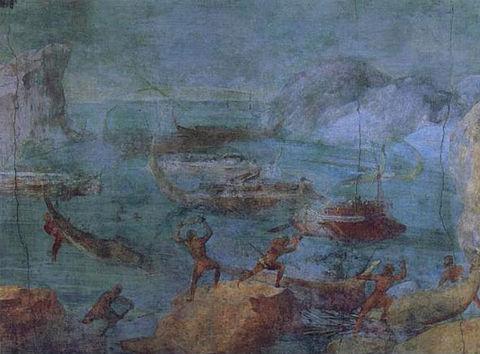 480px-Laestrygonians_Hurling_Rocks_at_the_Fleet_of_Odysseus